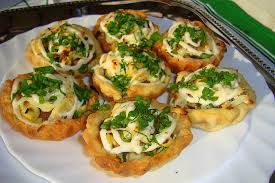 Полезный совет : Рецепт приготовления картофельных тарталеток под соусом