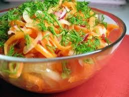 Полезный совет : Как приготовить овощной салат для похудения