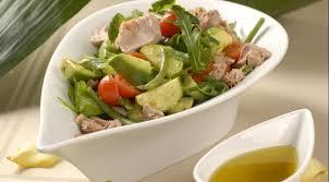 Полезный вече : Салат от тунцом и авокадо