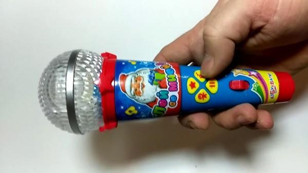 микрофон для ребенка