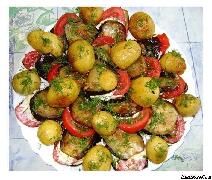 молодая картошка на ужин