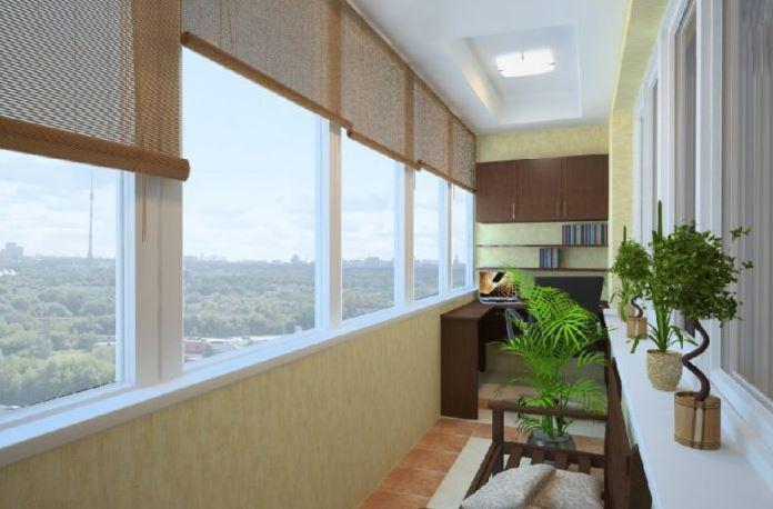 отделка балконов мск