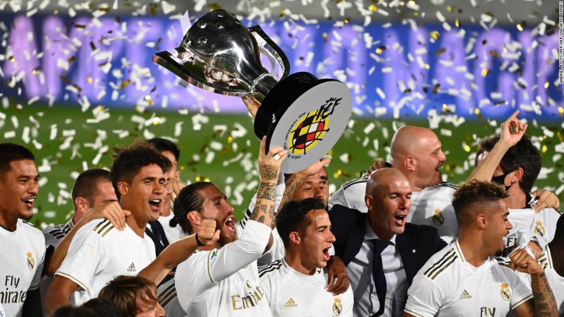 """Реал Мадрид"" - чемпион Испании 2020 года"