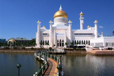 Дворец в Брунее