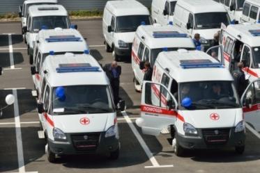 Новые кареты скорой помощи в Ростове