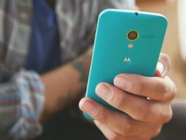 смартфон Moto E