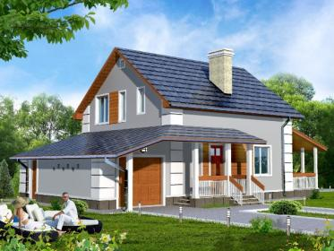Проекты домов до 150 кв.м.